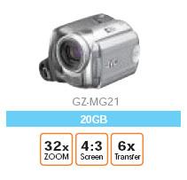 JVC Everio GZ-MG21