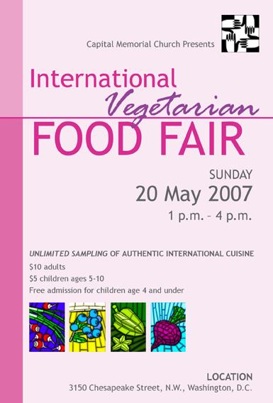 2007 International Vegetarian Food Fair