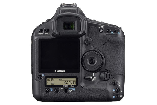 Canon EOS-1Ds Mark III (back)