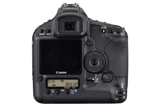 Canon EOS-1Ds Mark III (back)