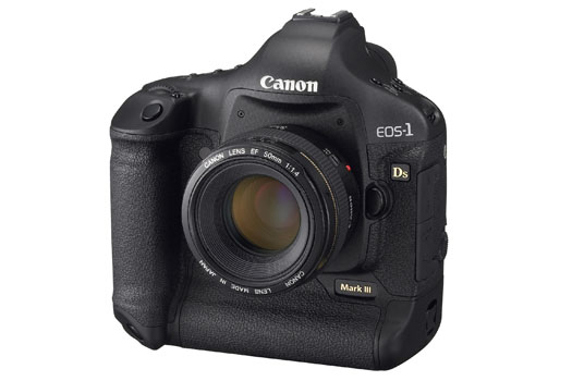 Canon EOS-1Ds Mark III (side)