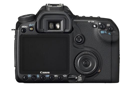 Canon EOS 40D (back)