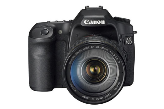 Canon EOS 40D (front)