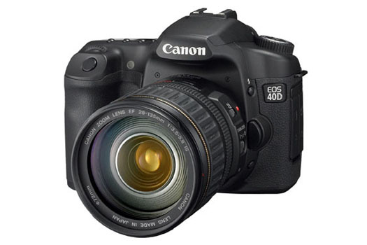 Canon EOS 40D (side)
