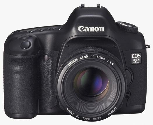 Canon EOS 5D (front)