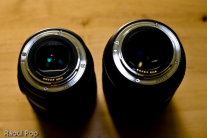 24-105mm and 24-70mm (back)