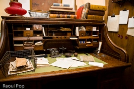 Ms. Barton's desk