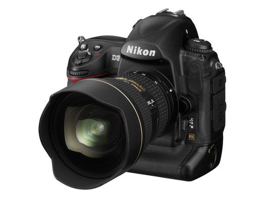 Nikon D3 (side)