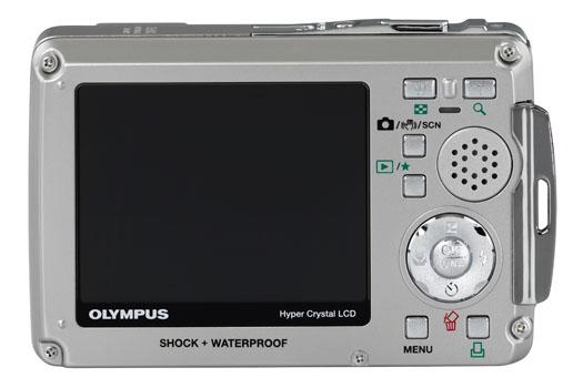 Olympus Stylus 770 SW -- Back