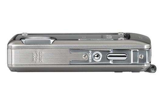 Olympus Stylus 770 SW -- Top