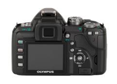 Olympus EVOLT E-510 (back)
