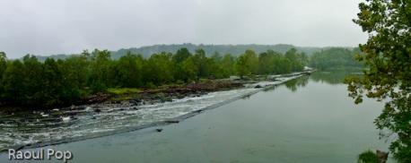 Waterfall panoramic