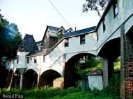 Rambling walkway between the Zeta Swiss Chalet and the Music Hall