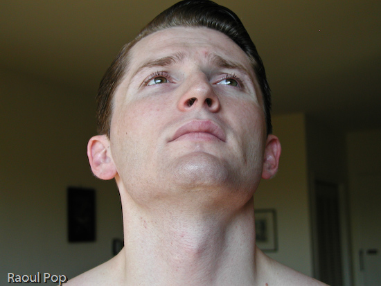 Clean-shaven face