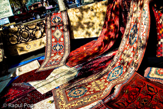 Ali's flying carpets