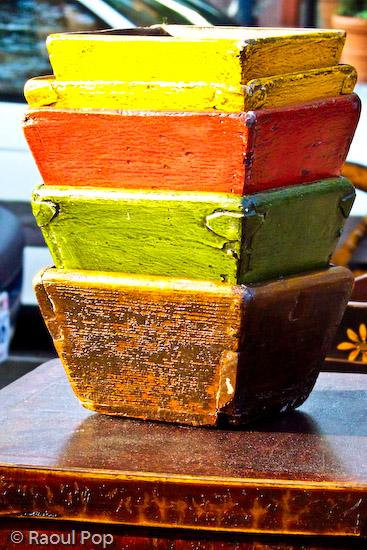 Multi-colored bowls