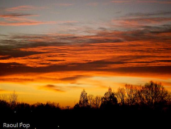 Passionate sunrise