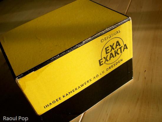 Exakta in original box