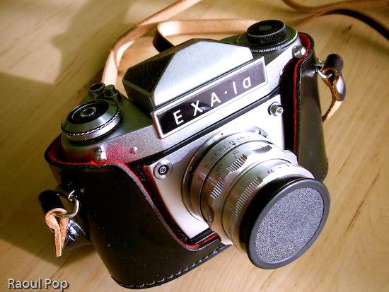 Camera in case