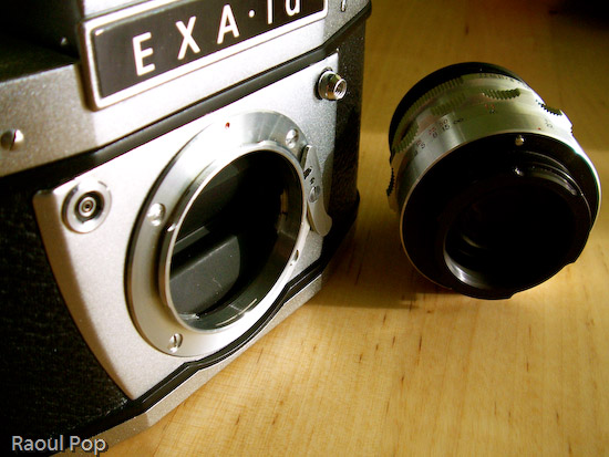 Camera body and lens