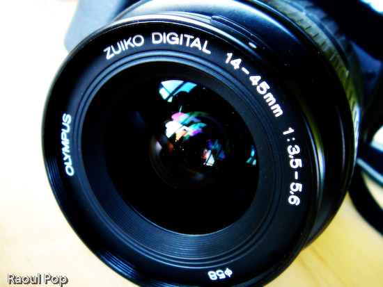 Zuiko digital lens
