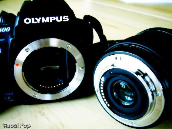 Camera body and lens