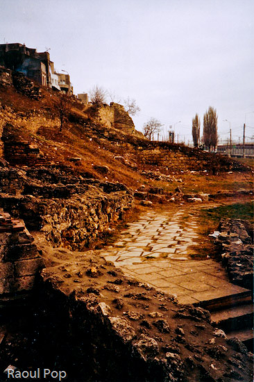 Ruins of a Roman building