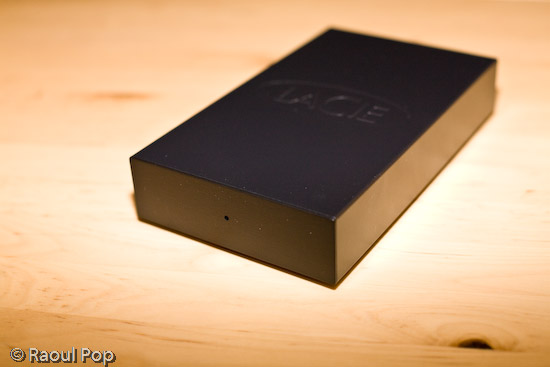 500 GB LaCie USB hard drive