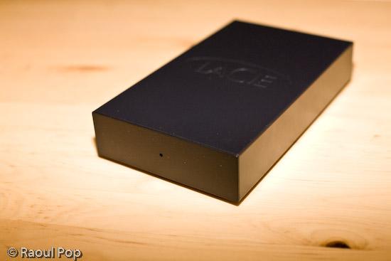500 GB LaCie USB hard drive