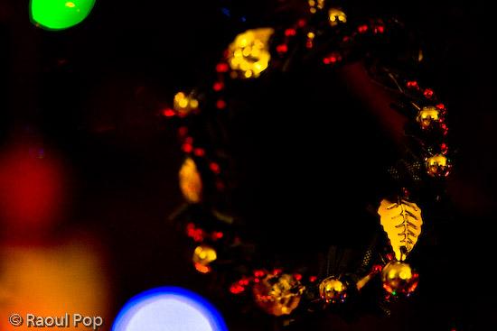 A wreath of holly