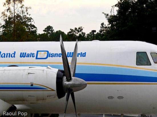 Walt Disney's personal plane
