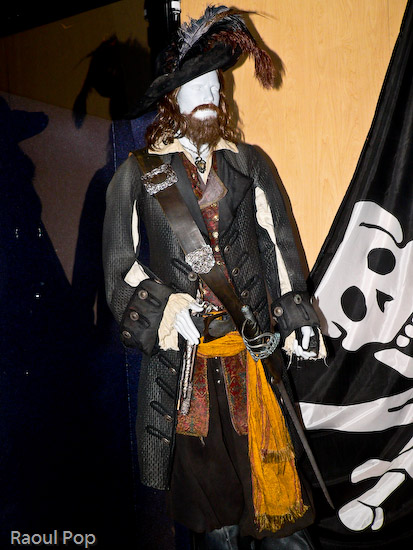 Captain Barbossa's costume