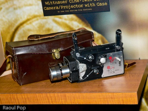 Wittnauer Cine-Twin camera/projector with case