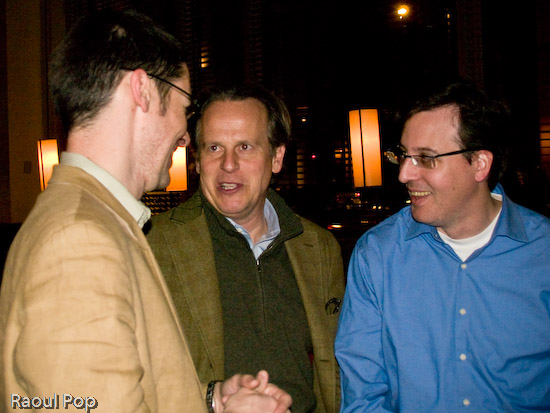 Rick Klau, Tony Conrad and Jeff Yolen