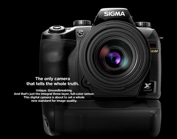 Sigma SD14 DSLR