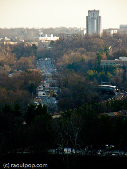 Looking toward Bethesda
