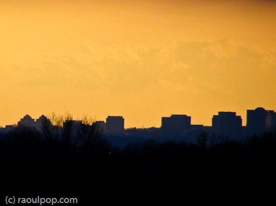 Bethesda skyline