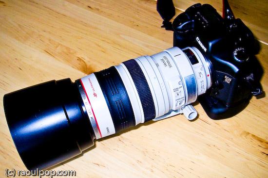 EF 100-400mm lens, wide
