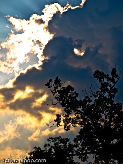 Unforgiving August sky