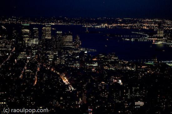 Blue nights in NY