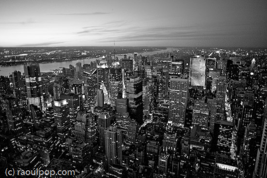 Classic Manhattan skyline