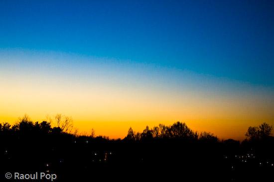 Last sunrise of 2007