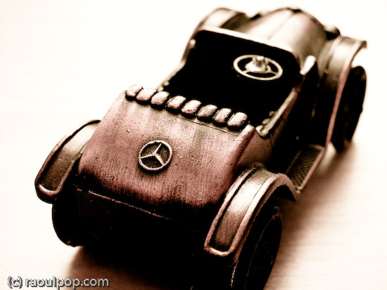 The old Mercedes