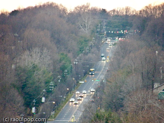 Tuckerman Lane from above