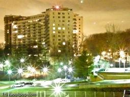 Night exposure at 6400 ISO