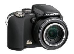 Olympus SP-560 UZ (right)