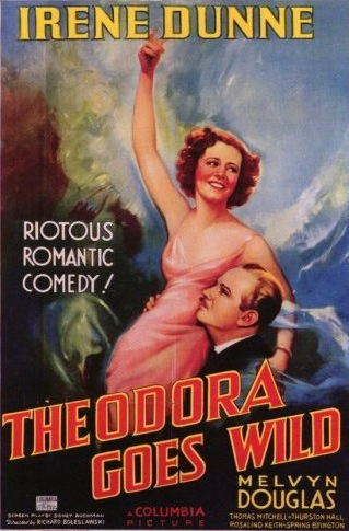 Movie poster for Theodora Goes Wild.