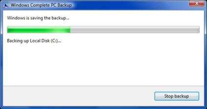 Windows Complete PC Backup