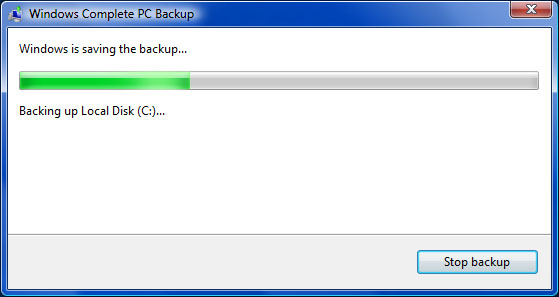 Windows Complete PC Backup