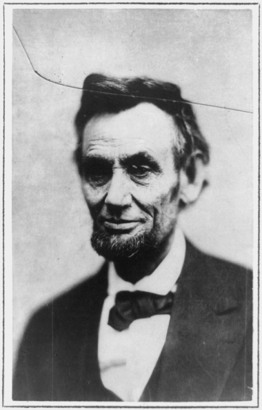 Abraham Lincoln in 1865
